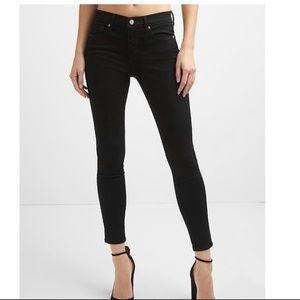 NWT Mid Rise Sculpt Skinny Jeans 26 EverBlack v332